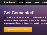 The new JomSocial frontpage