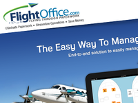 FlightOffice.com Mockup