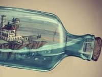 World in a bottle