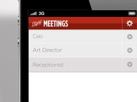 Tight Meetings UI