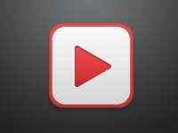 YouTube iOS Icon - Rebound