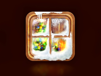 Christmas Window iOS Icon