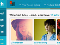 Welcome Back: Dating Site Dashboard