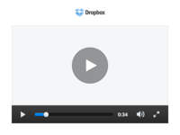 Dropbox Video Player