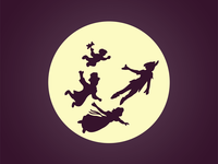 Peter Pan Dribbble