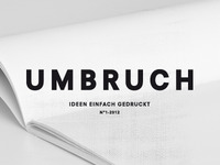 Umbruch Magazine | Looking for some creatives !