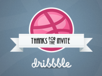 Thank you Dribbble