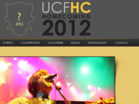 UCF 2012 Homecoming Site