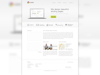 Freebie - A landing page web design!