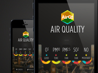 AirQt App that measures air quality