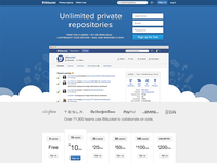 Bitbucket Homepage