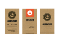 Gutensite Cards