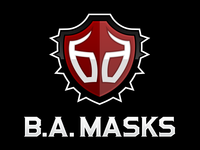 B.A. Masks Logo