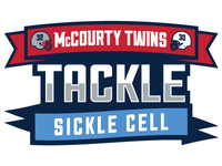 McCourty Twins Tackle Sickle Cell Logo