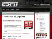 ESPN Digital and Print Blog