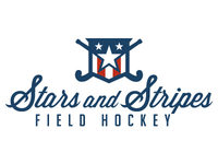 Stars and Stripes Field Hockey Logo