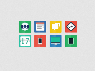 Download Freebie PSD – Flat Icons