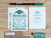 Graduation Invitation Set