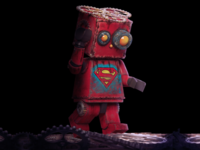 Lego Superman Rusty