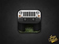 Jeep Wrangler App Icon - iPhone / iPad