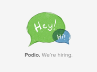 Podio is hiring