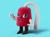 Shriners Hospitals for Children Mascot