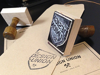 Design Union Materials stamp
