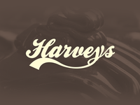 Harveys Text Logo