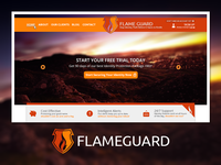 Flame Guard Website Design