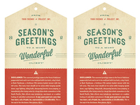 Season's Greetings #2