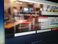 NEW - Allocate Home Page