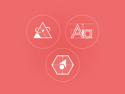 Design, Develop, & Mentorship Icons
