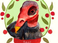 Basil the Turkey Vulture