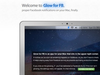 Glow for FB (Facebook notifications)