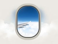 airline view illustration