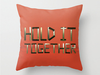 Hold It Together Pillow