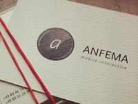 anfema business cards