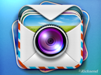 Kicksend iOS Icon