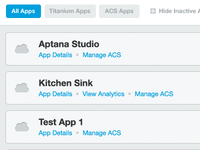 App Management Dashboard