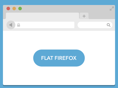 Download Flat Firefox