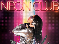 Neon Club Party PSD Flyer
