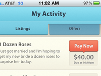 Zaarly iPhone App