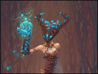 Dryad from Crystal Forest