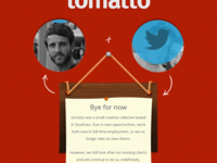 tomatto closing page