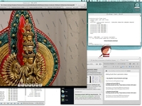 Complex Panoramic Images for Buddhist Statue Exhibition