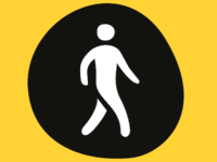 Walking Pictogram