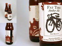 Fat Tire Beer Label