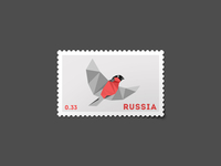 Bullfinch Stamp