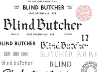 Blind Butcher