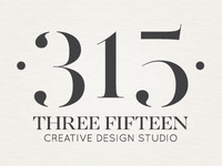 Three Fifteen Design Logo